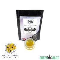 White Label Extracts - Platinum OG x OG Bubba Dawg Sugar Sauce