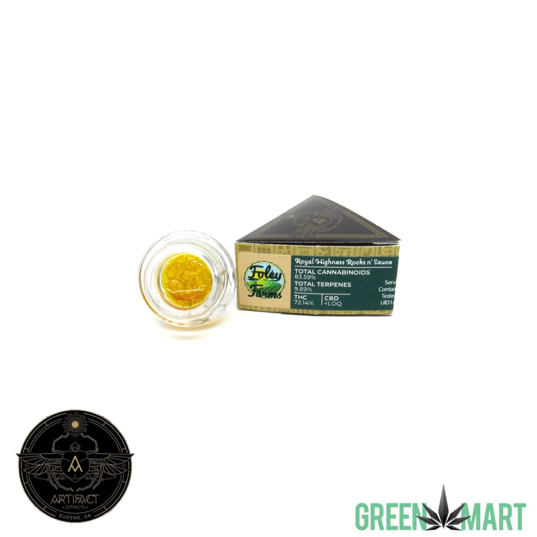 Artifact Extracts - Royal Highness Rocks n' Sauce