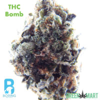 THC Bomb by Boring Weed Company