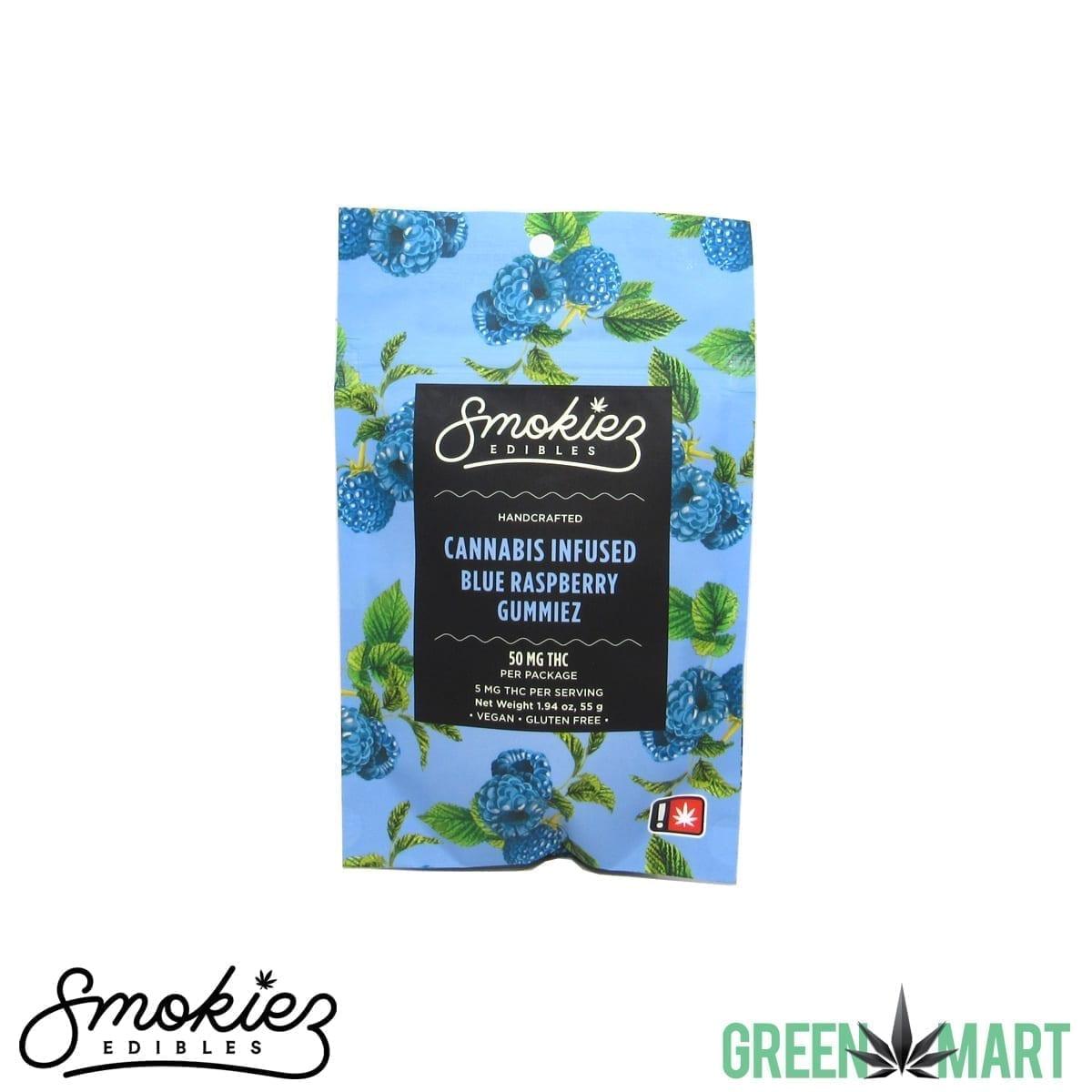 Smokiez Edibles Gummiez - Blue Raspberry