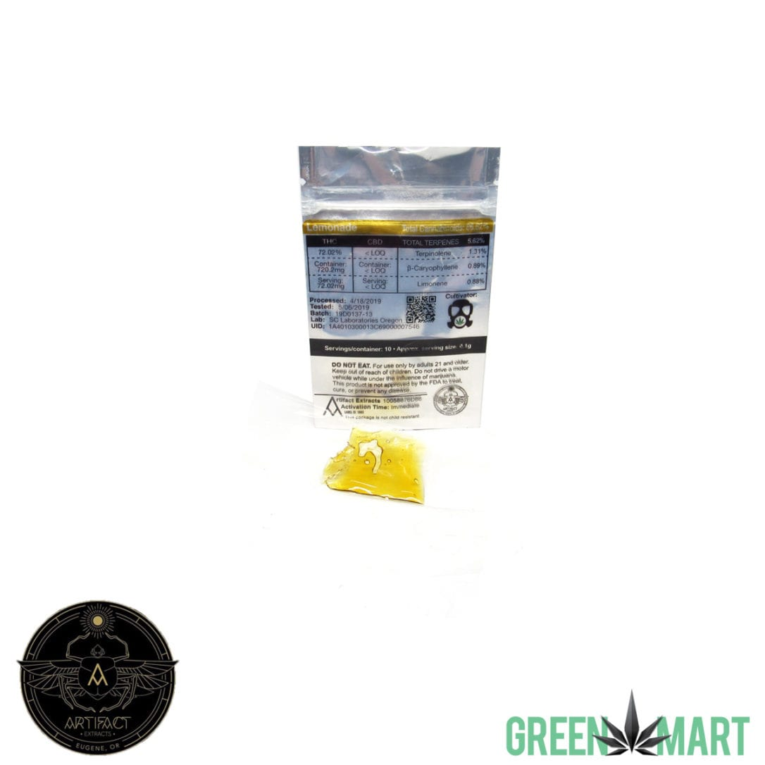 Artifact Extracts - Lemonade