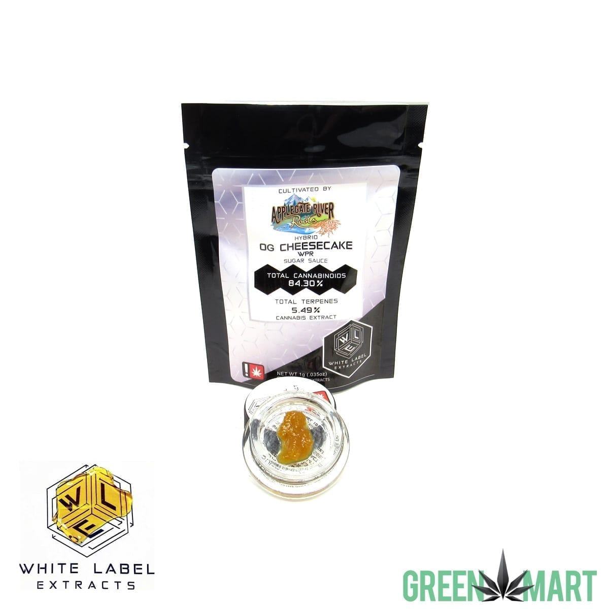 White Label Extracts - OG Cheesecake Sugar Sauce WPR
