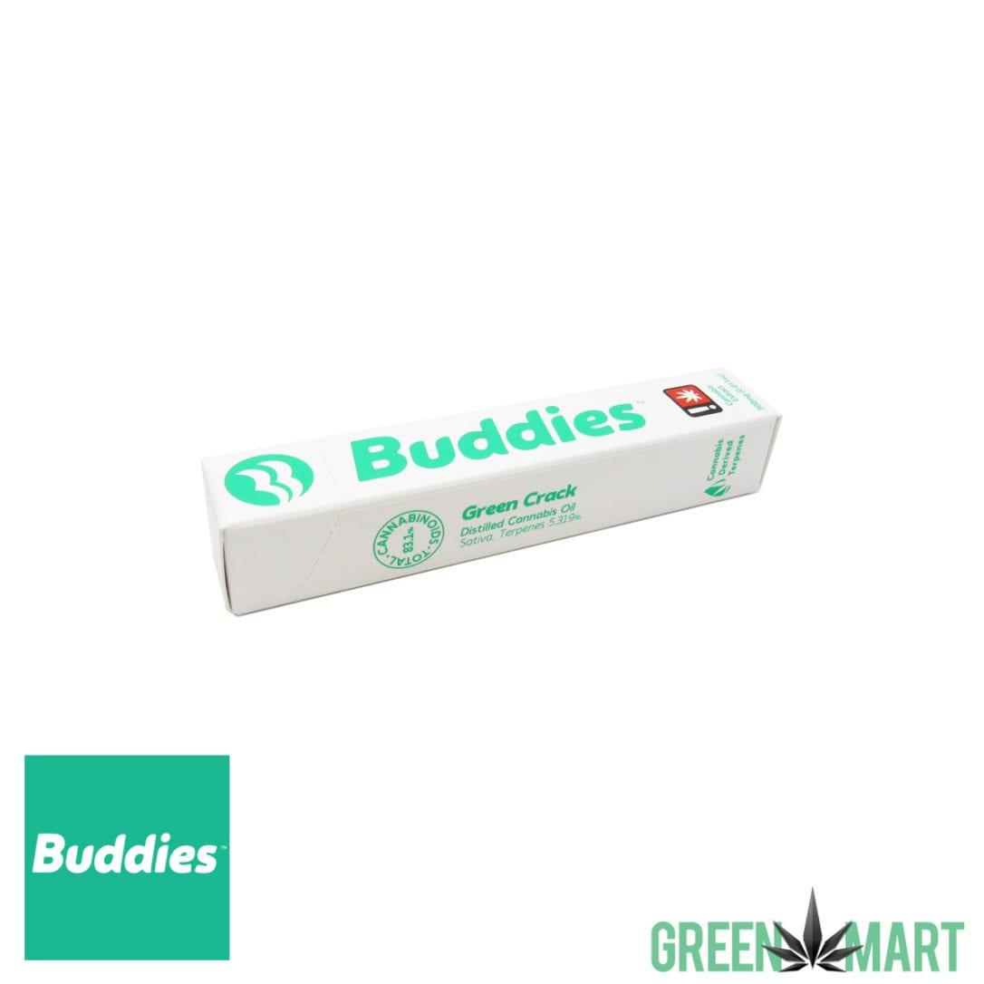 Buddies Disposable Vape Pen - Green Crack