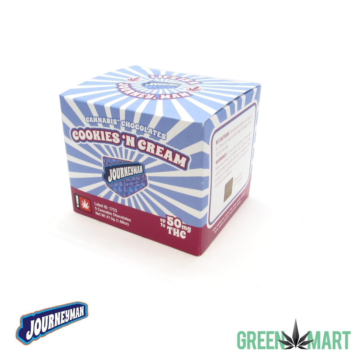 Journeyman Cookies N Cream Box