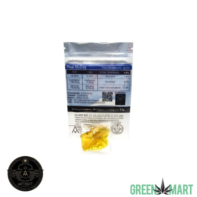 Artifact Extracts - Real McCoy