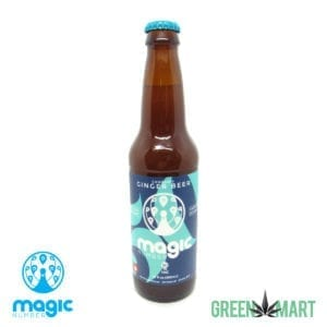 Magic Number Cannabis THC Ginger Beer - Front