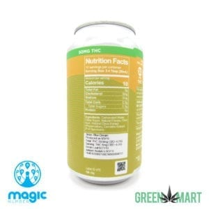Magic Number Mandarin Lime THC Soda - Nutrition Facts