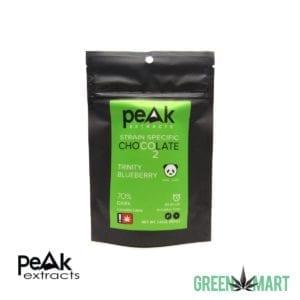 Peak Extracts Dark Chocolates - Trinity Blueberry