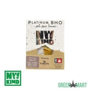 NW Kind Extracts Platinum BHO - Adak OG