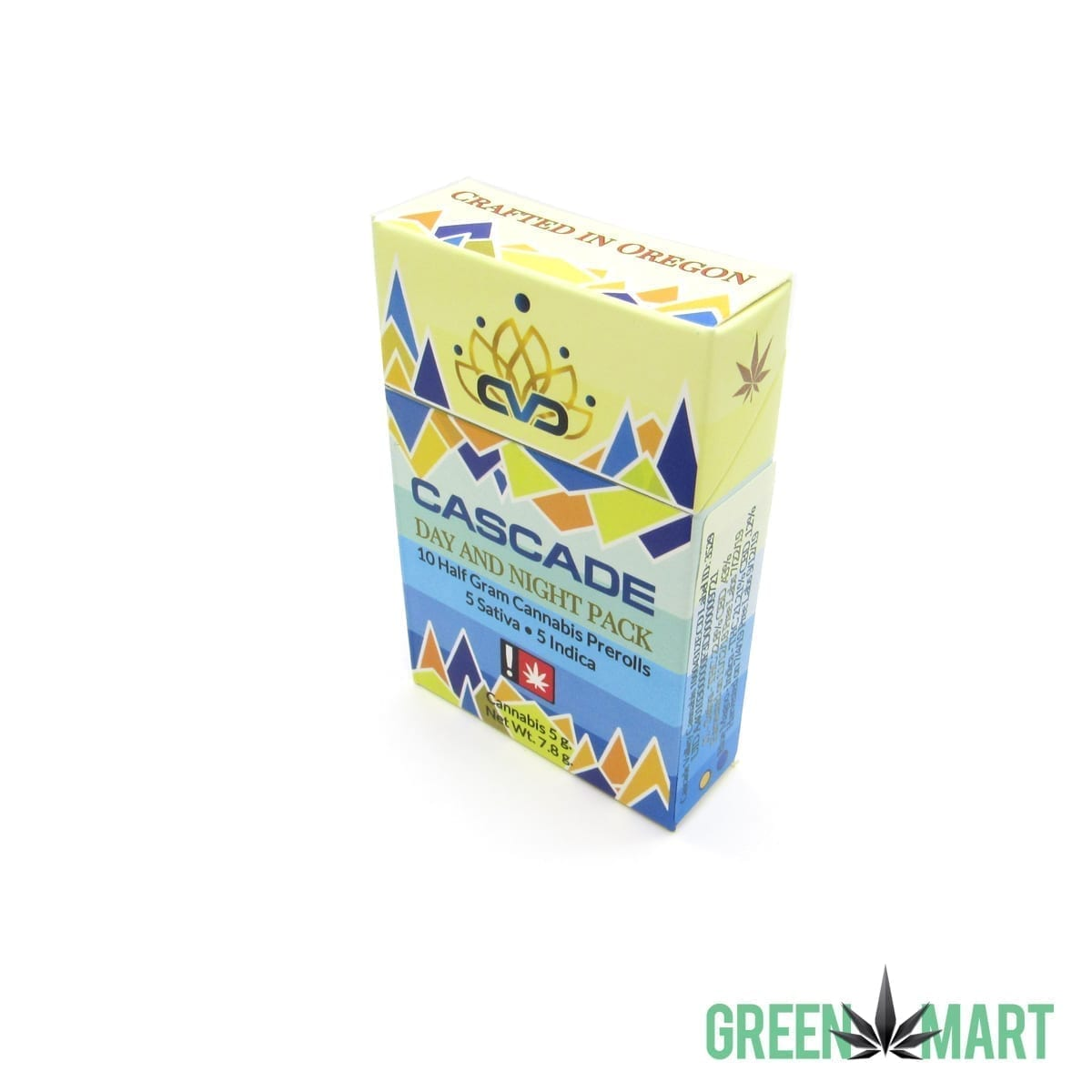 Cascade Valley Cannabis 10 Preroll Pack - Day and Night Pack