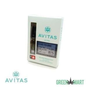 Avitas Ultra Distillate Cartridge - Five to One CBD