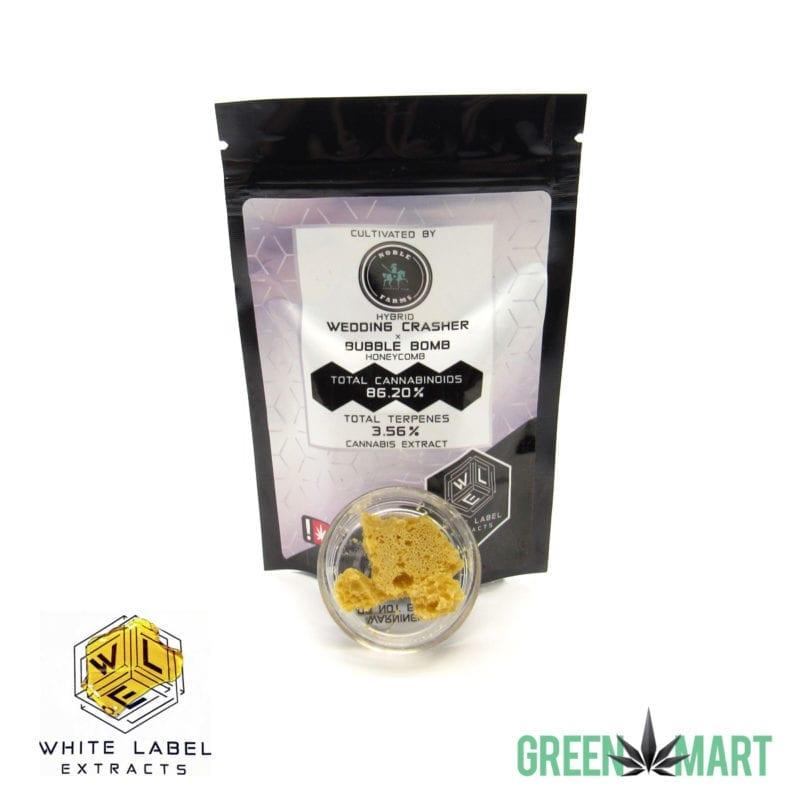 White Label Extracts - Wedding Crasher Bubble Bomb Honeycomb