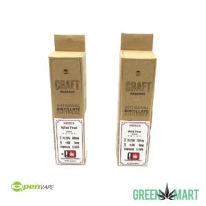 O.pen Vape Craft Reserve Cartridge - Wild Thai Half and Full Grams