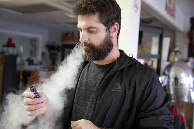 A judge has put a stay on Oregon's ban of flavored vaping products containing nicotine. But the ban remains in place for cannabis products. Kristian Foden-Vencil/OPB