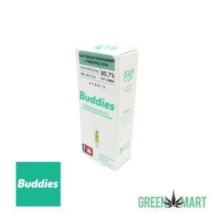 Buddies Distillate Cartridge - Blue Dream Shiskaberry x Pineapple Kush