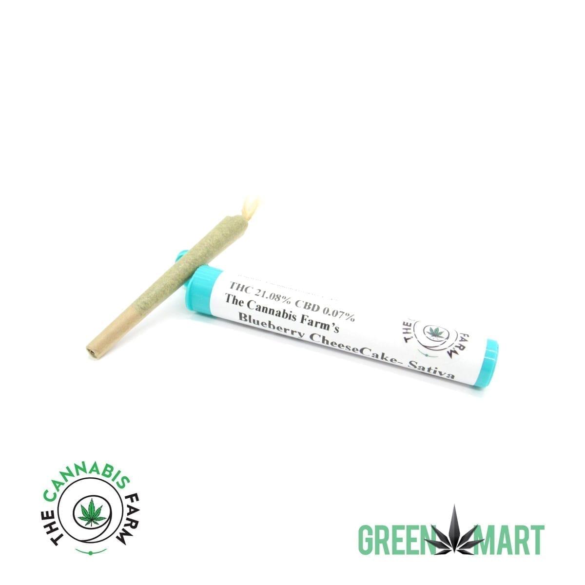 The Cannabis Farm 1g Pre-roll - Blueberry Cheesecake
