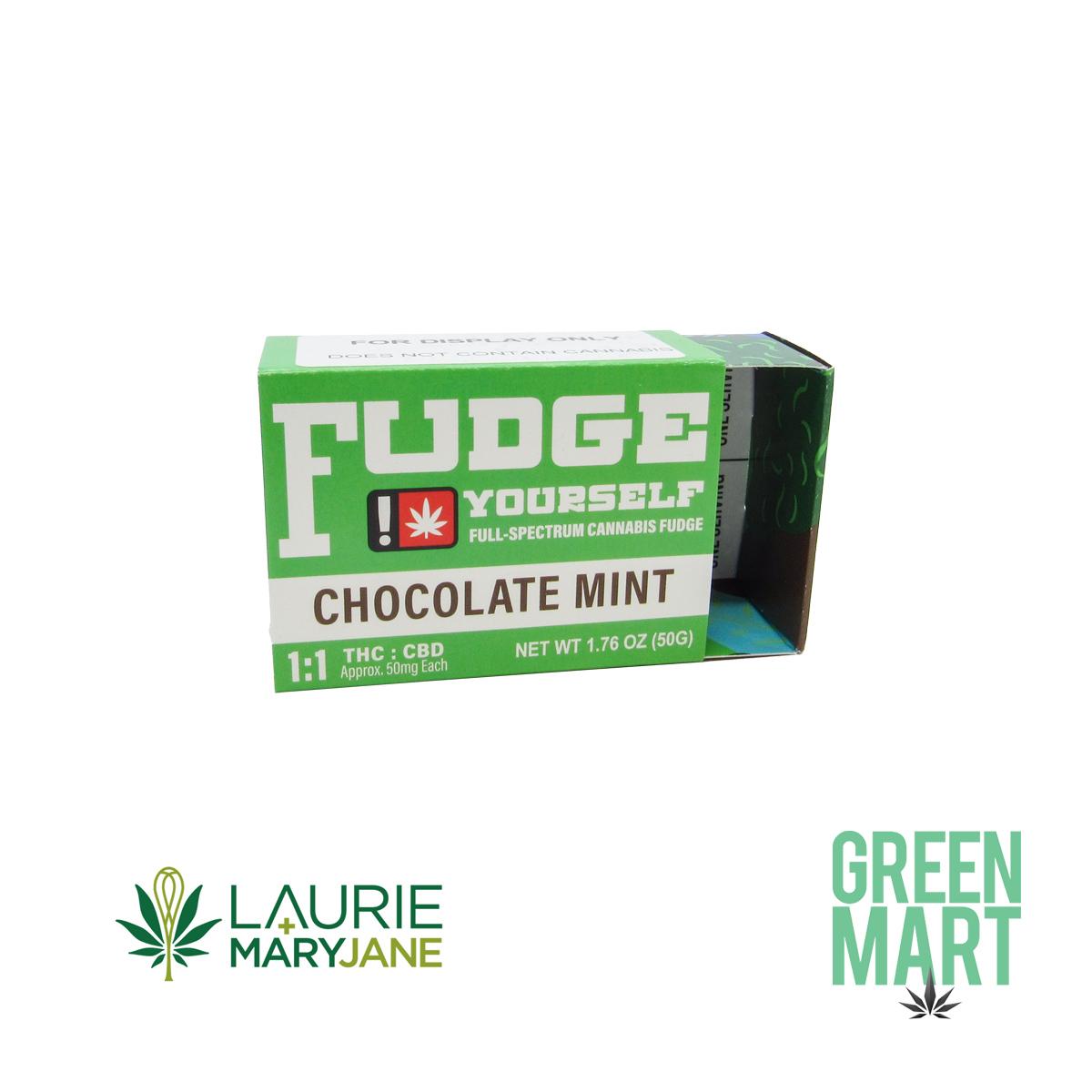 Fudge Yourself - 1:1 Chocolate Mint Fudge