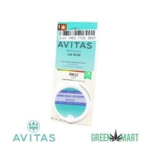 Avitas Natural Live Resin Pax Pod - Kimbo Kush