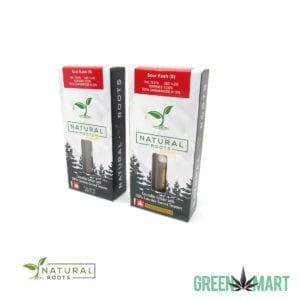 Natural Roots Extracts Cartridge - Sour Kush