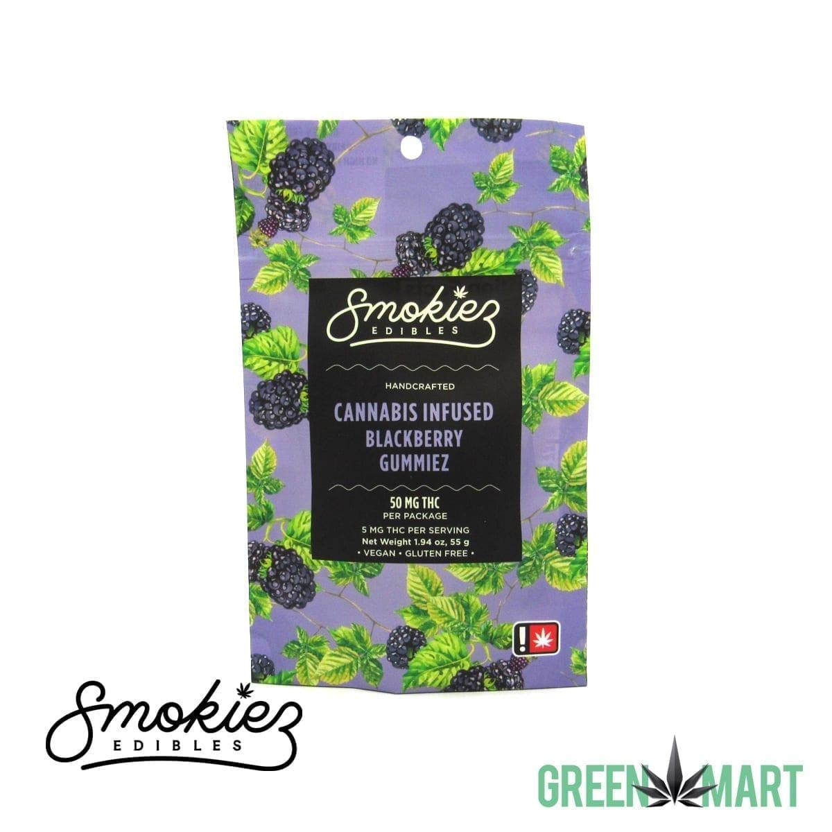 Smokiez Edibles - New Blackberry THC