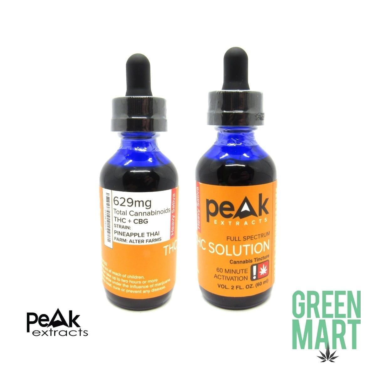 Peak Extracts Tinctures - Pineapple Thai