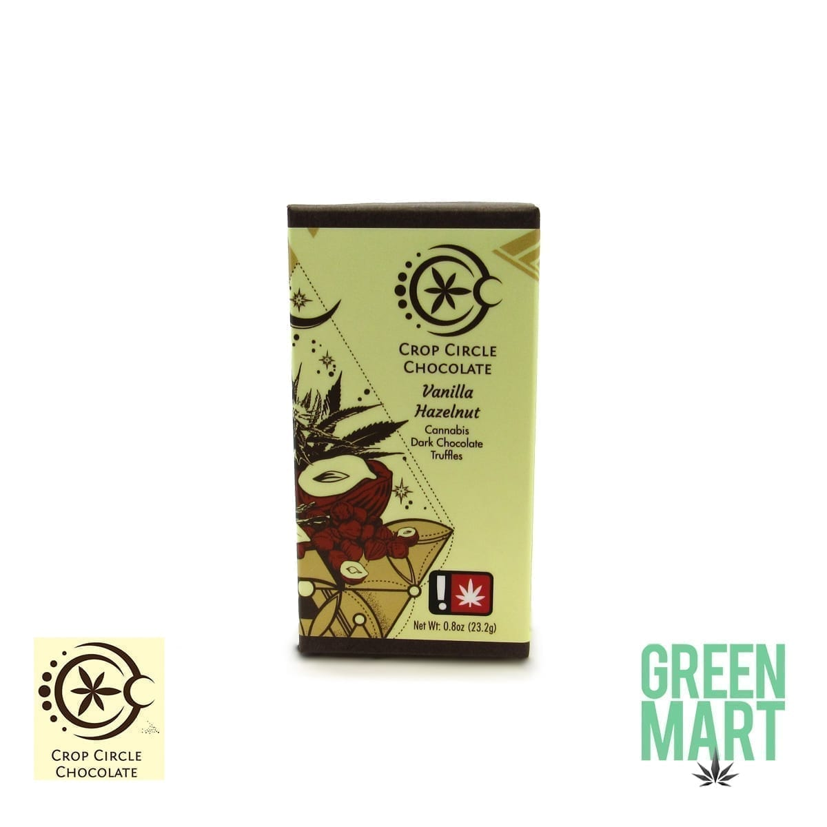 Crop Circle Chocolate - Vanilla Hazelnut 2 Pack