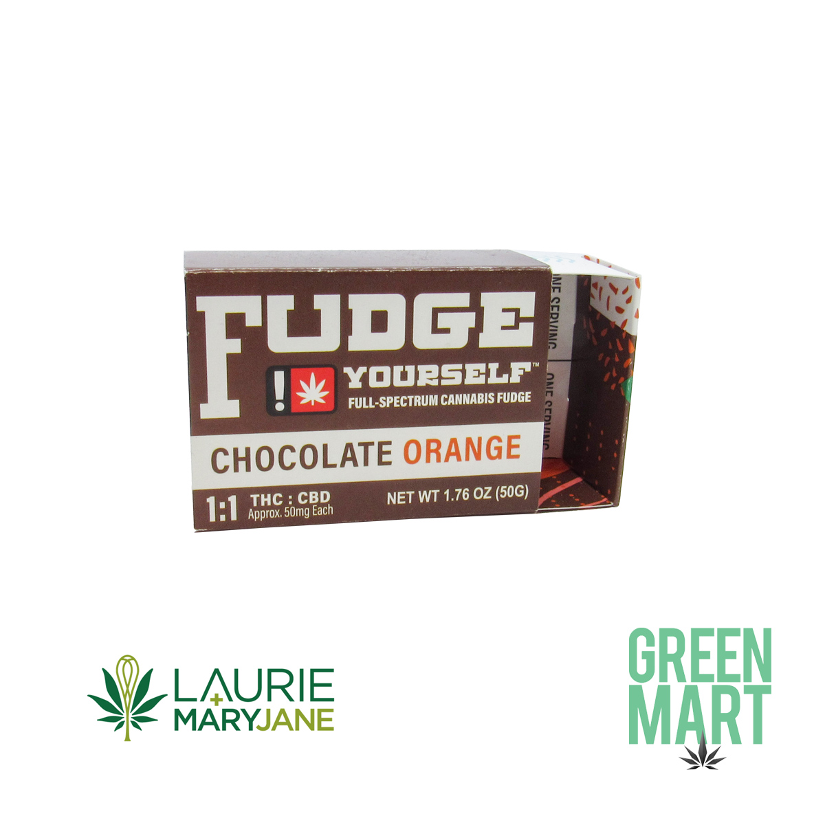 Fudge Yourself - 1:1 Dark Chocolate Orange Fudge
