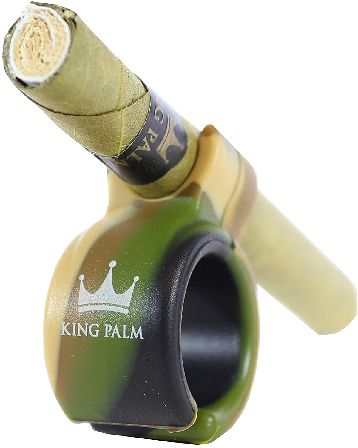 King Palm Blunt Ring