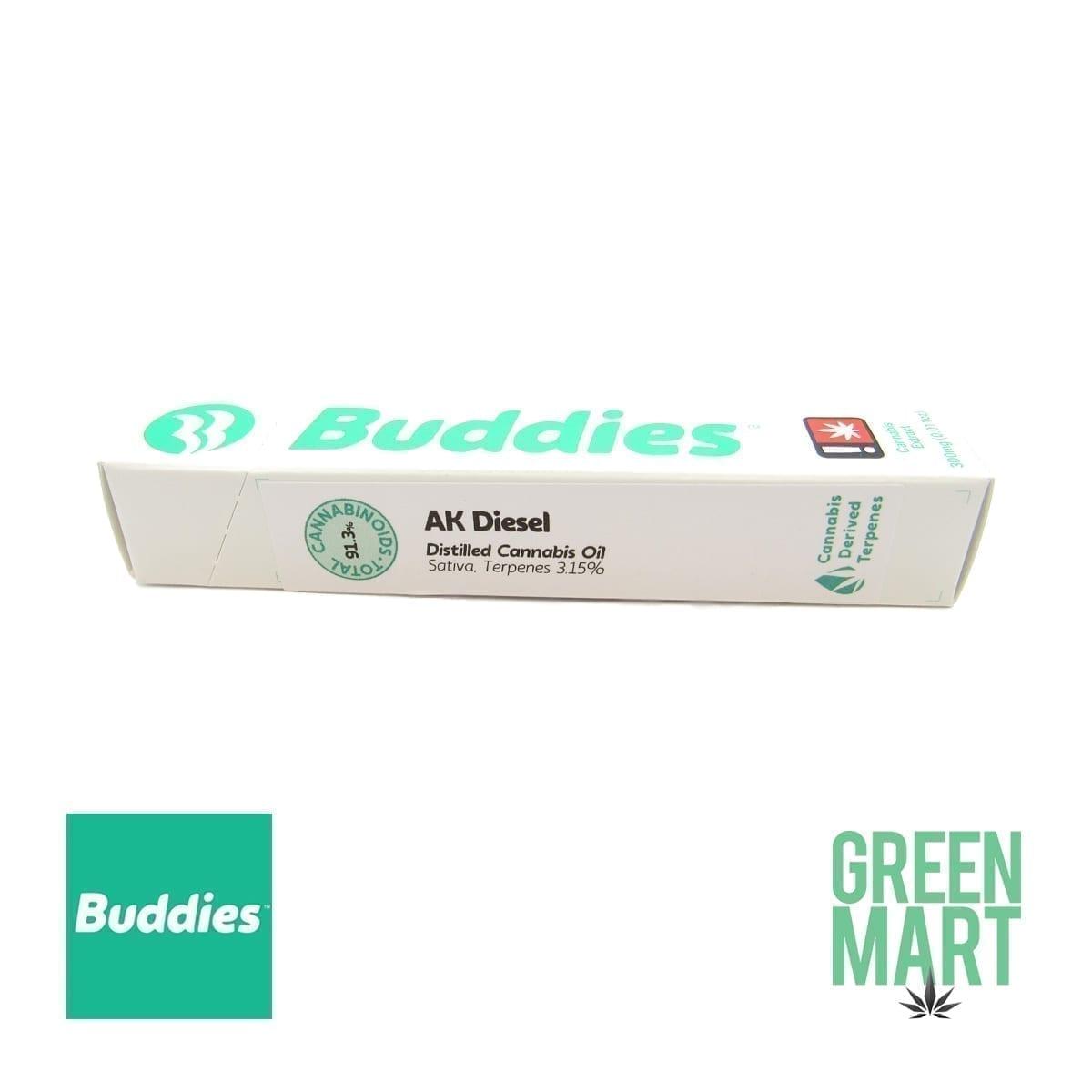 Buddies Brand Disposable Vape - AK Diesel