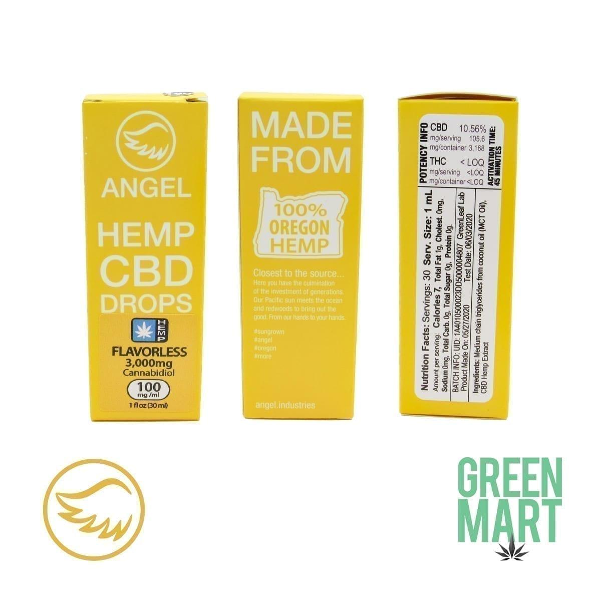 Hemp CBD Flavorless 3000mg