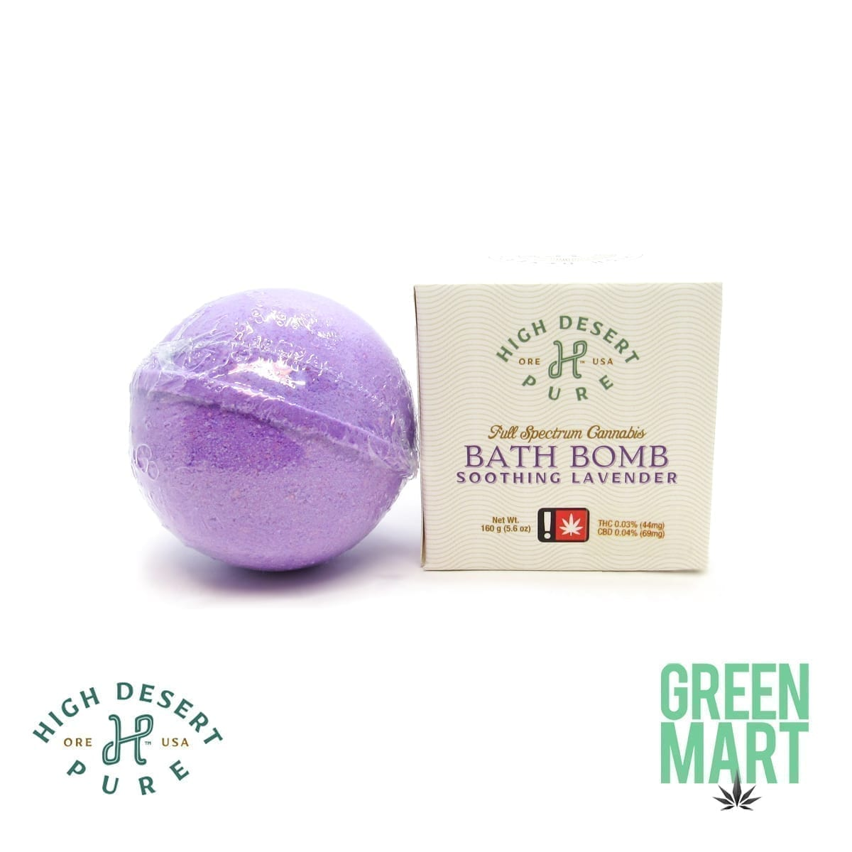 High Desert Pure - Bath Bomb - Soothing Lavender