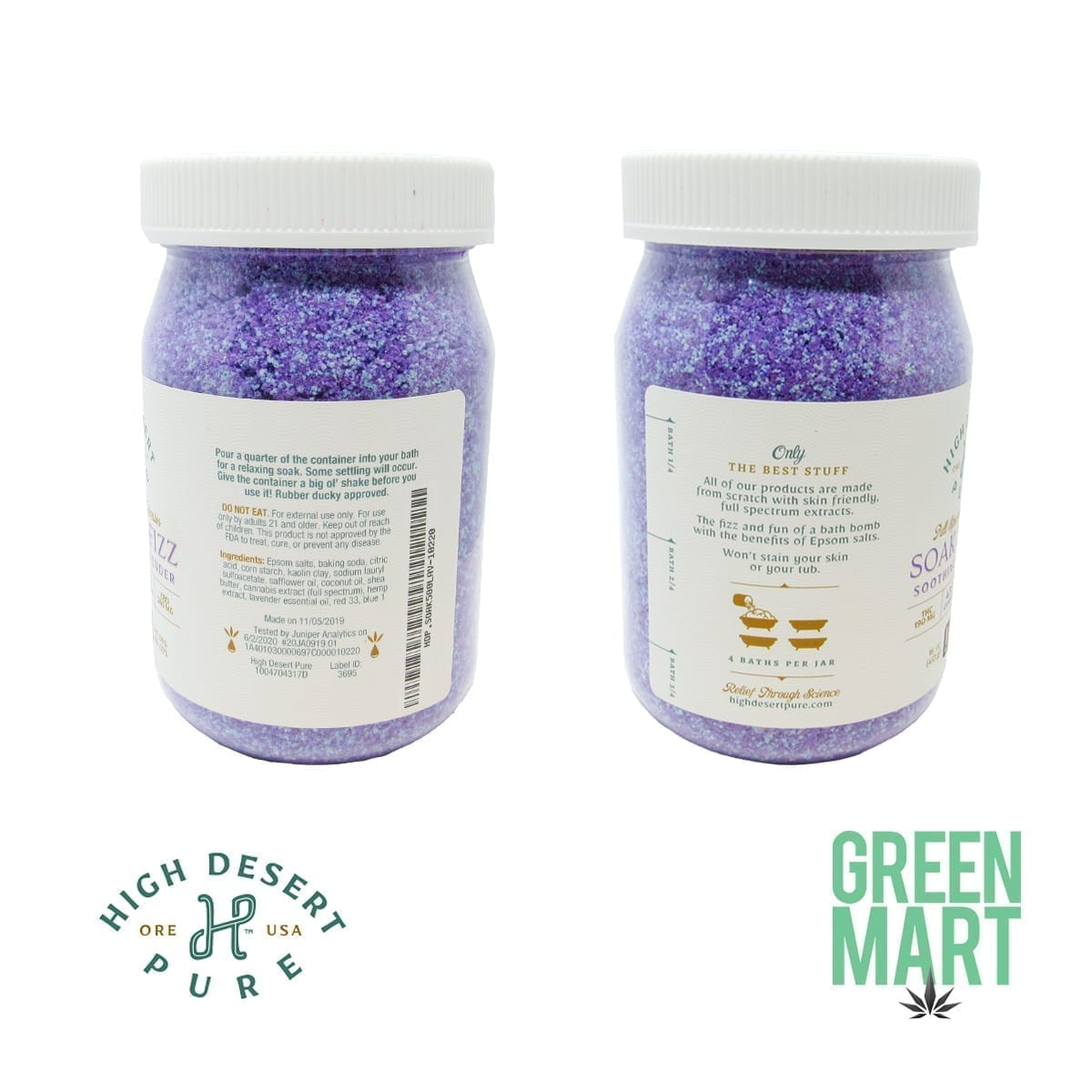 High Desert Pure Soak And Fizz Back