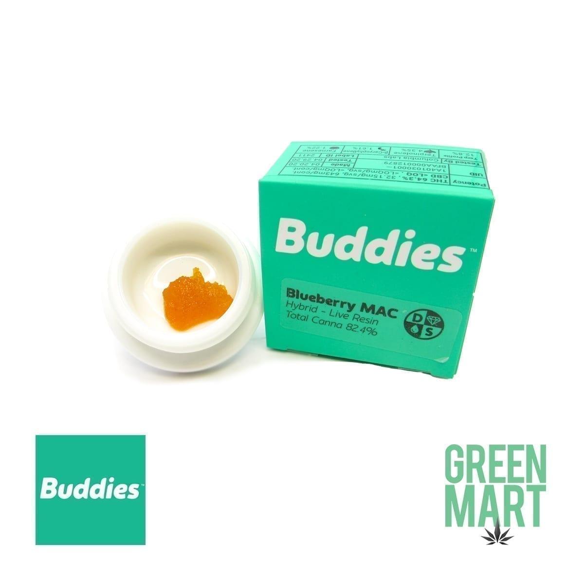 Buddies Blueberry Mac Dab