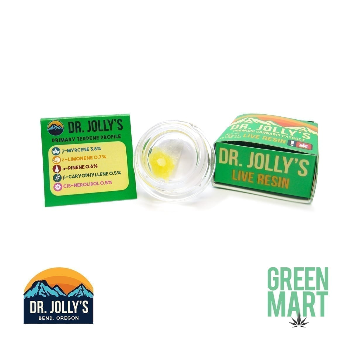 Dr. Jolly's Extracts - Cotton C. Kush Live Resin Terps