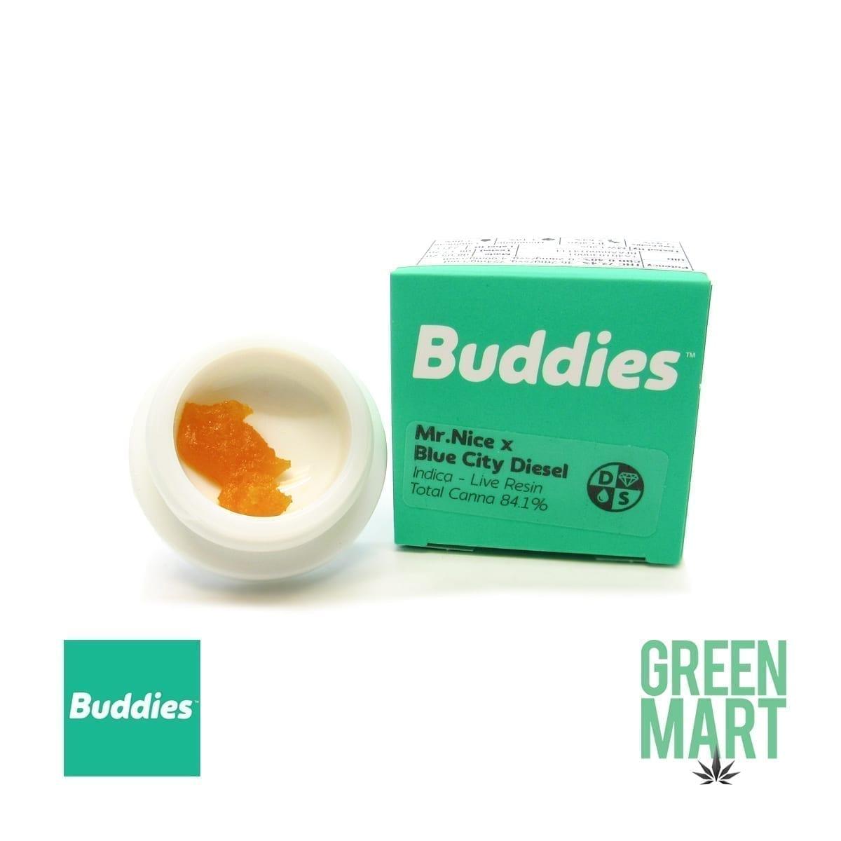 Buddies Dab - Mr. Nice Guy X Blue City Diesel