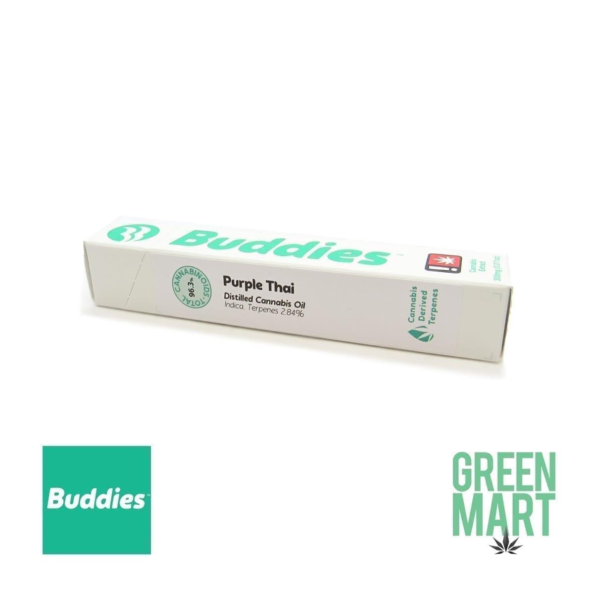Buddies Brand Disposable Vape - Purple Thai