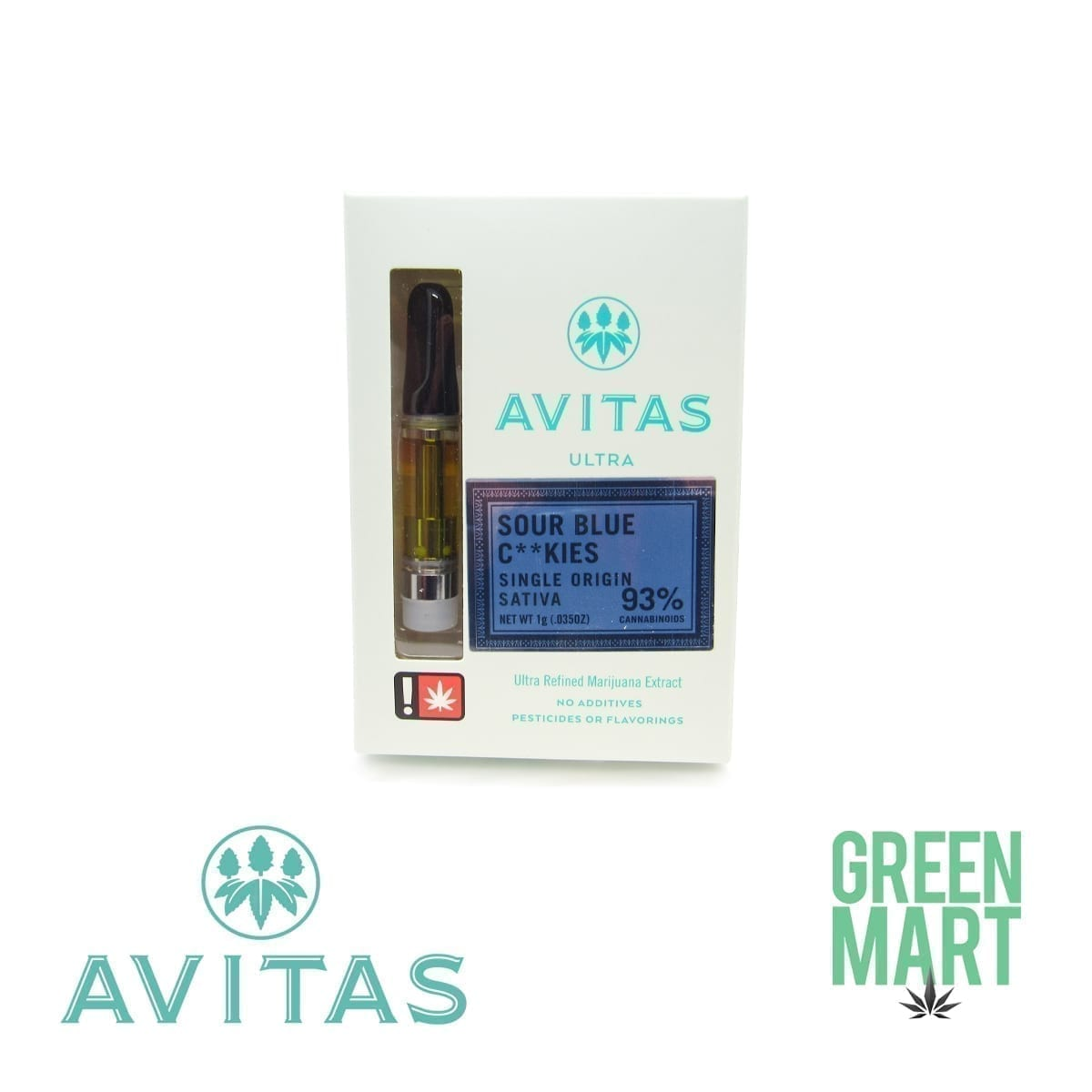 Avitas Sour Blue Cookies 1Gram