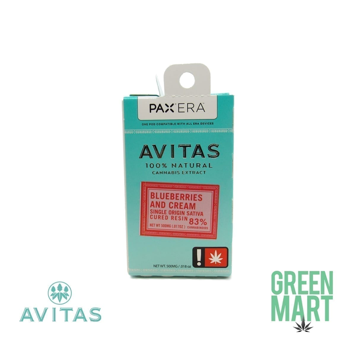 Avitas Pax Era Pod - Blueberries & Cream