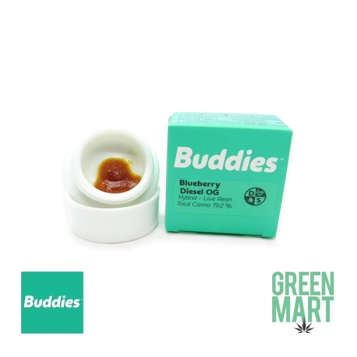 Buddies Dab - Blueberry Diesel OG