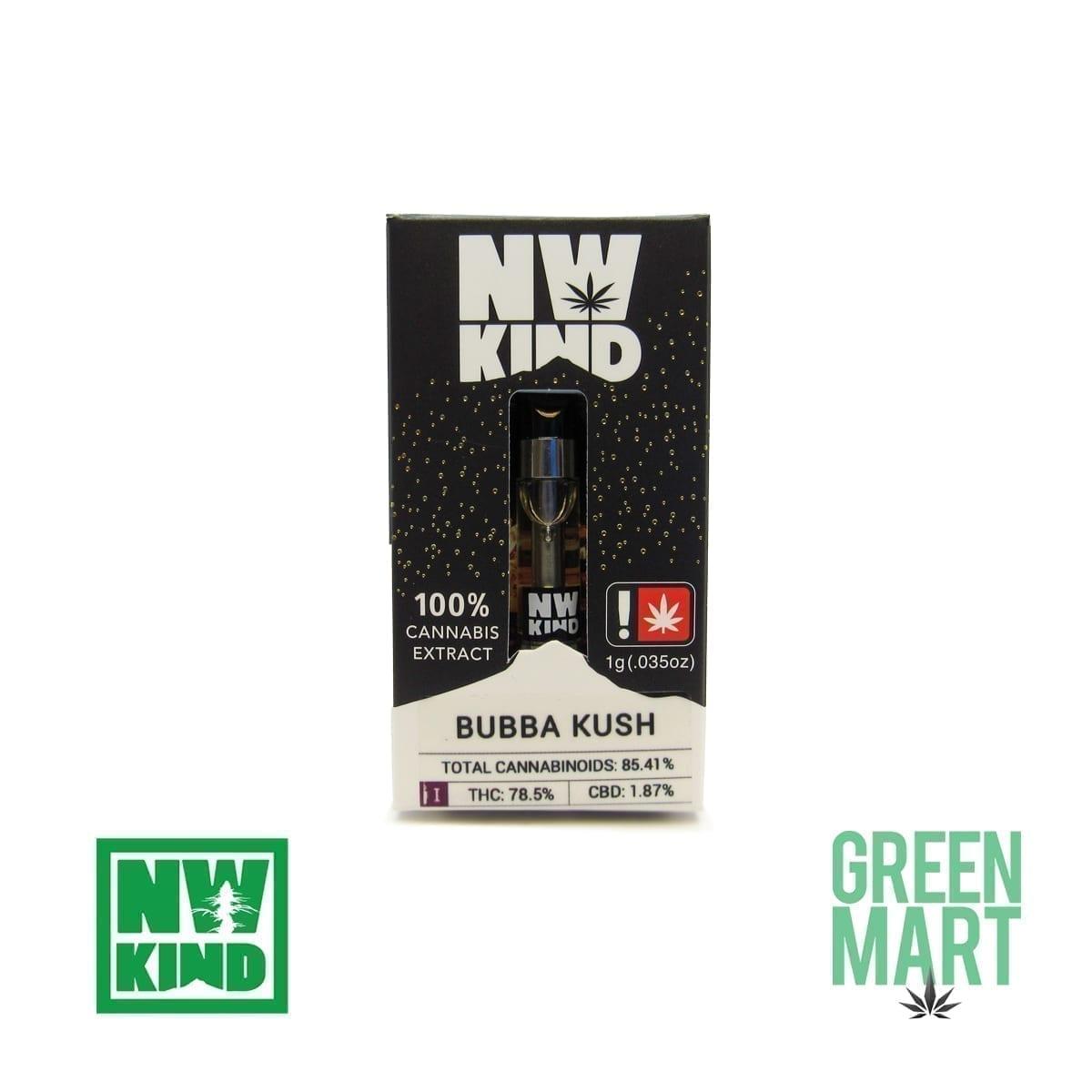 NW Kind Distillate Cartridge - Bubba Kush