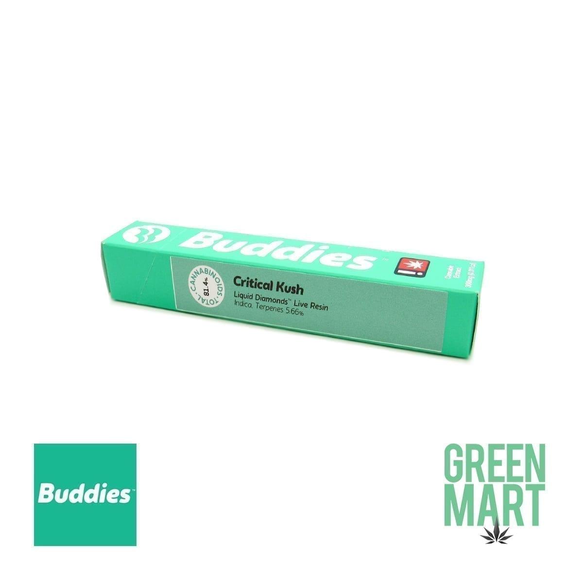 Buddies Brand Disposable Vape - Critical Kush