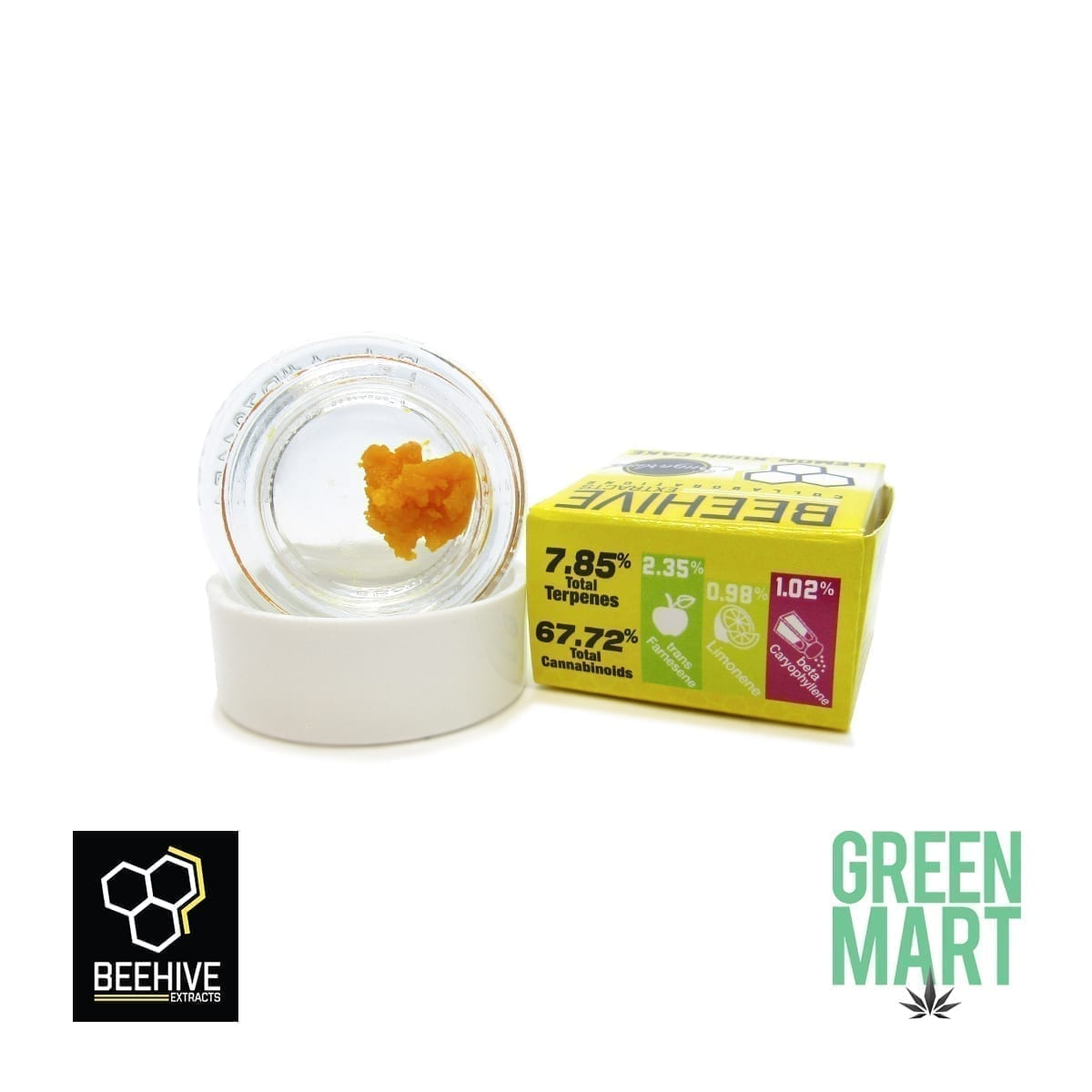 Bee Hive Extracts - Lemon Kush Cake