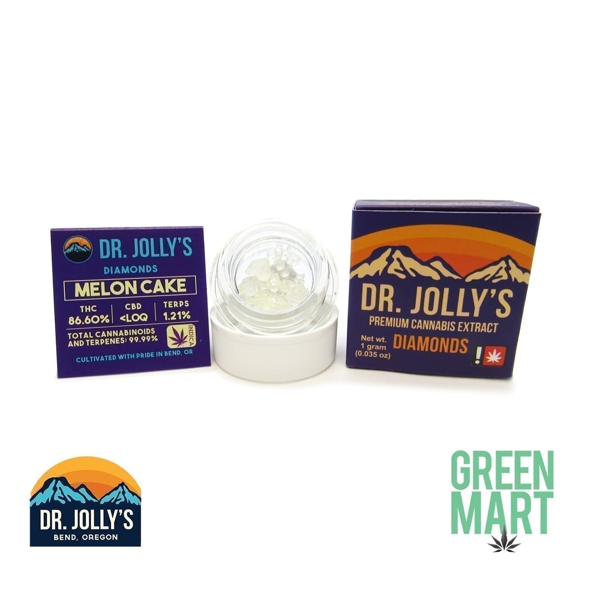 Dr. Jolly's Extracts - Melon Cake Diamonds