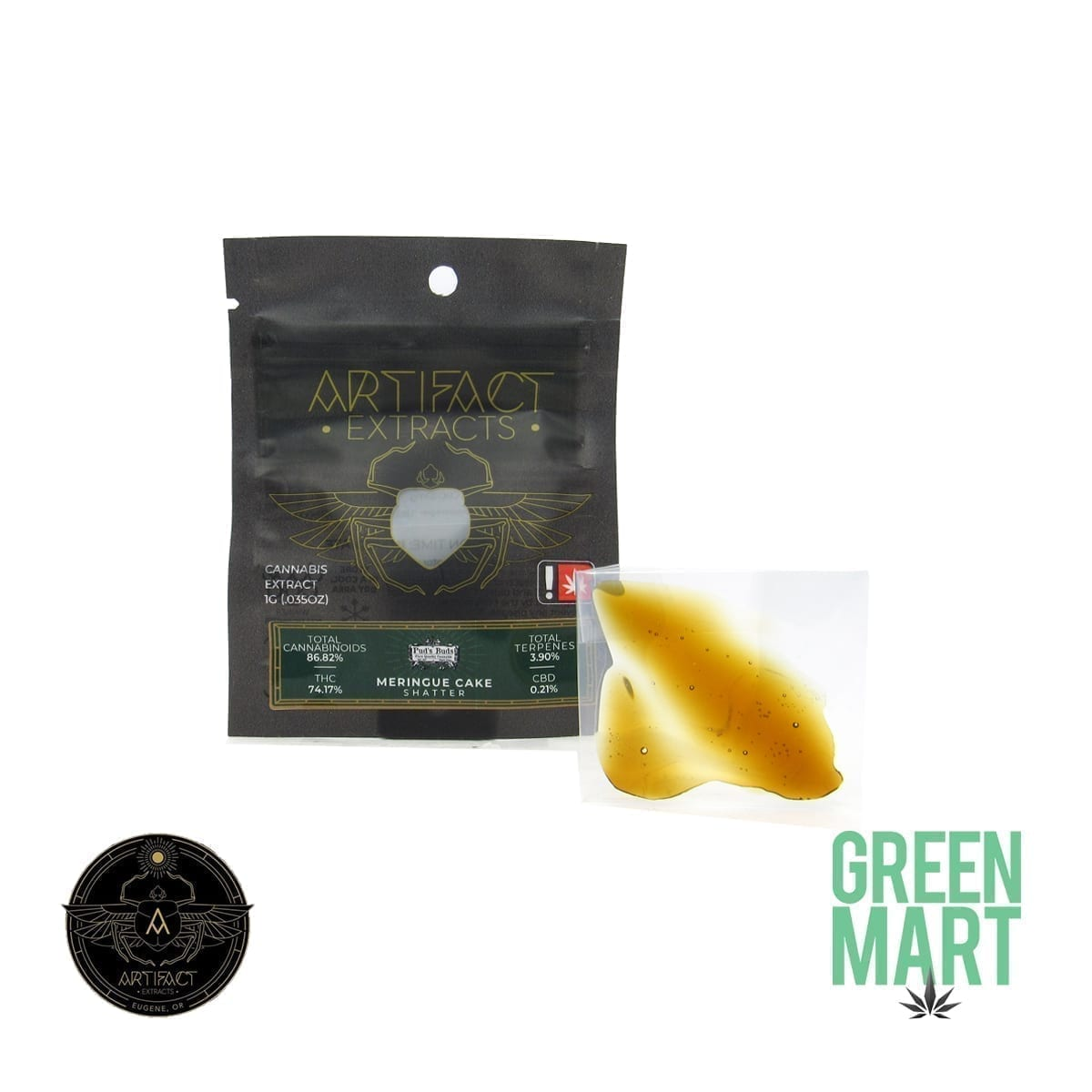 Artifact Extracts - Meringue Cake Shatter