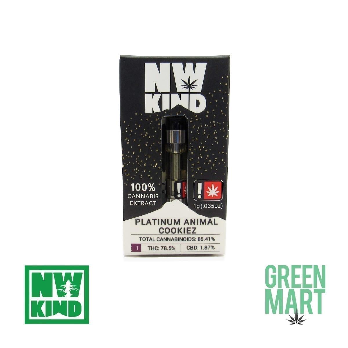 NW Kind Distillate Cartridge - Platinum Animal Cookiez