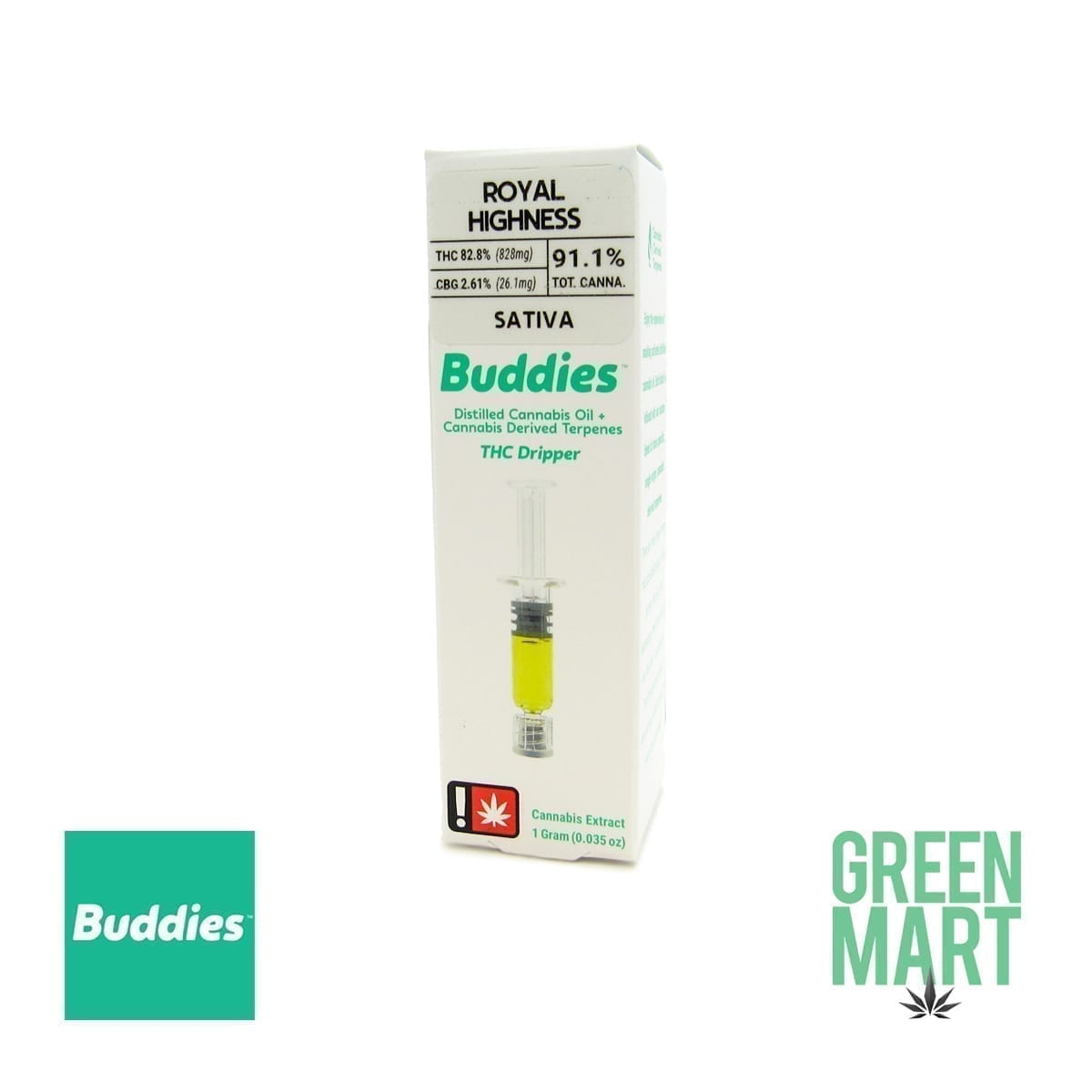 Buddies Brand THC Dripper - Royal Highness