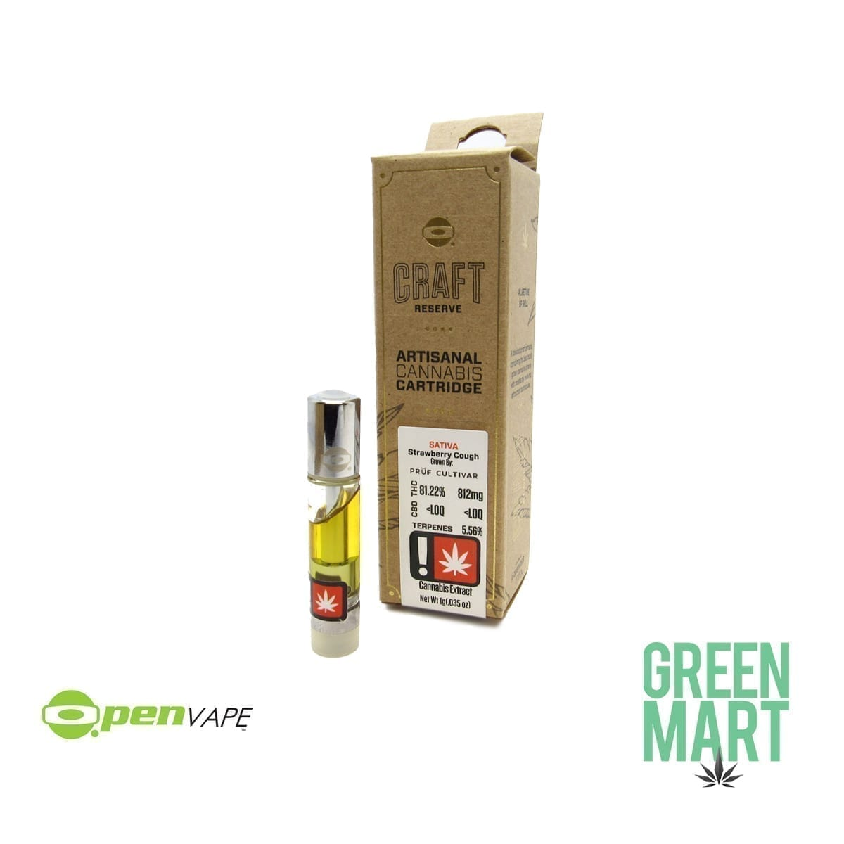 O.Pen Craft Reserve Cartridge - Strawberry Cough