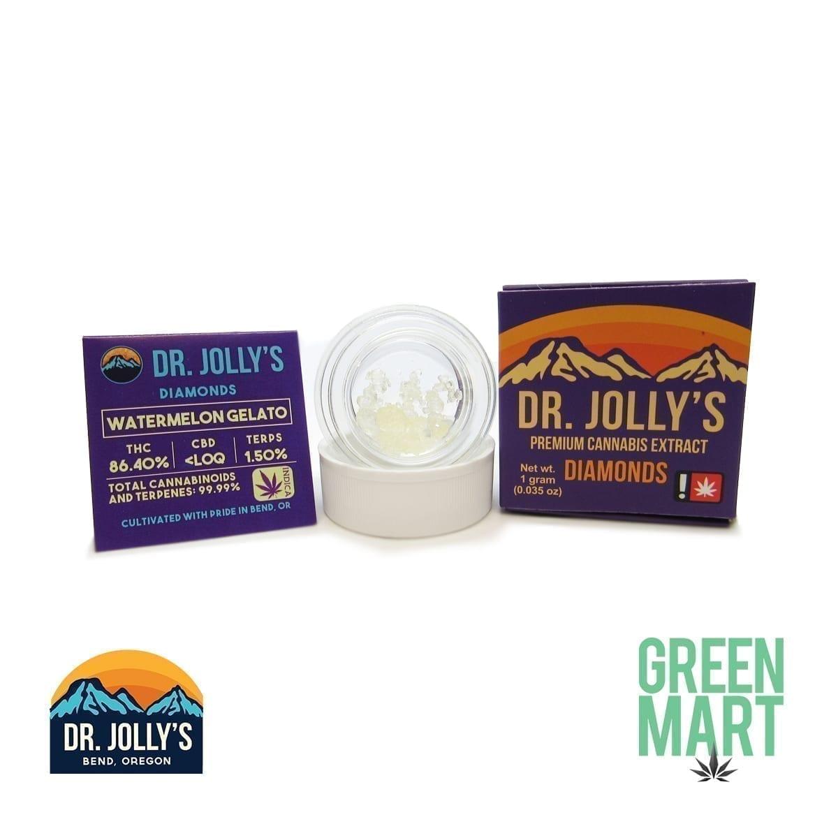 Dr. Jolly's Extracts - Watermelon Gelato Diamonds