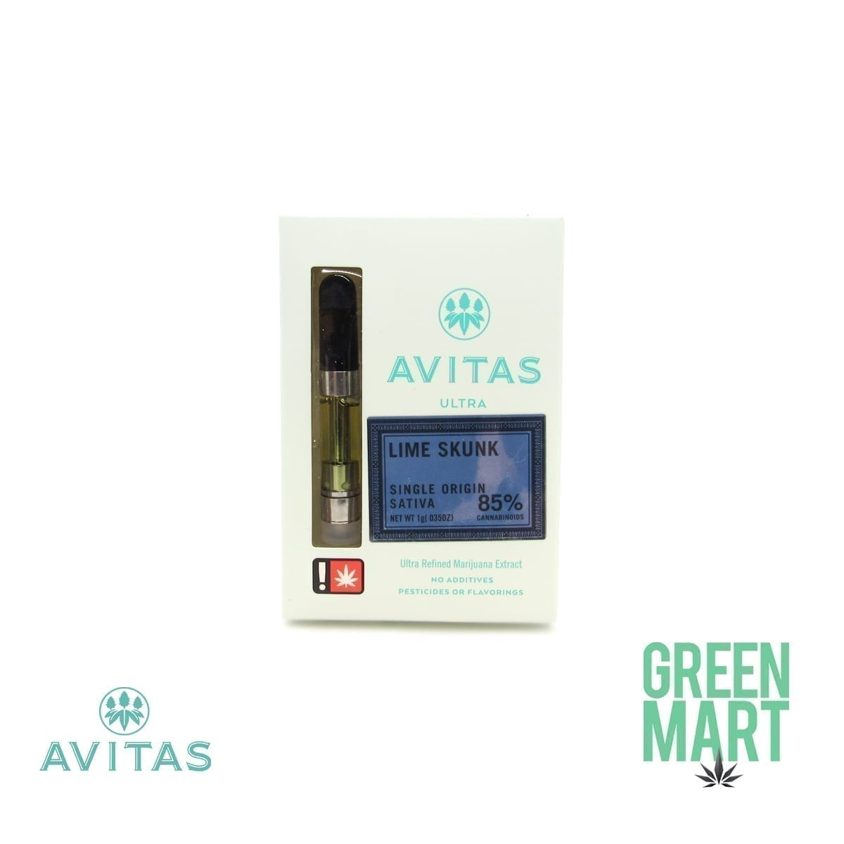 Avitas Ultra Distillate Cartridge - Lime Skunk