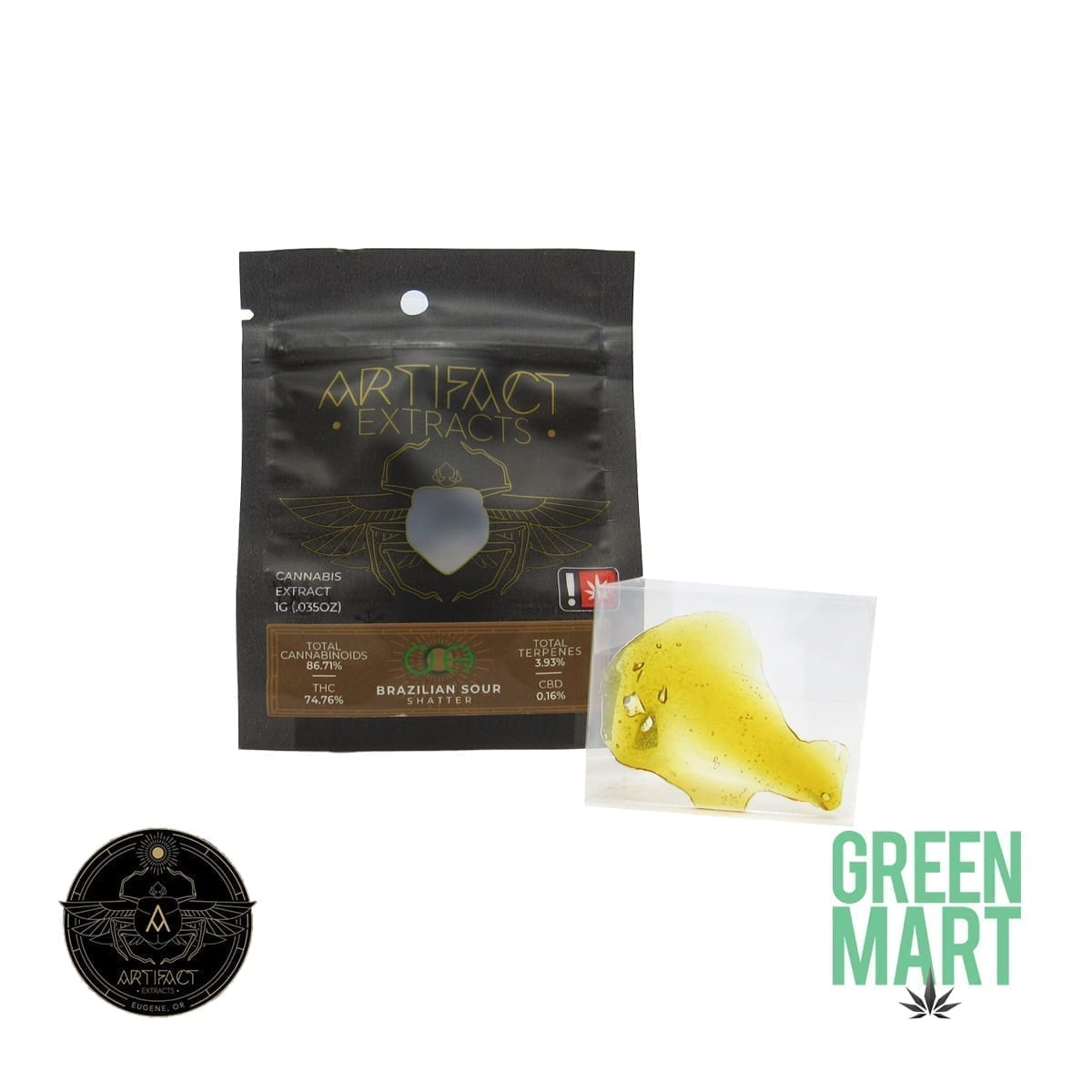 Artifact Extracts - Brazilian Sour Shatter